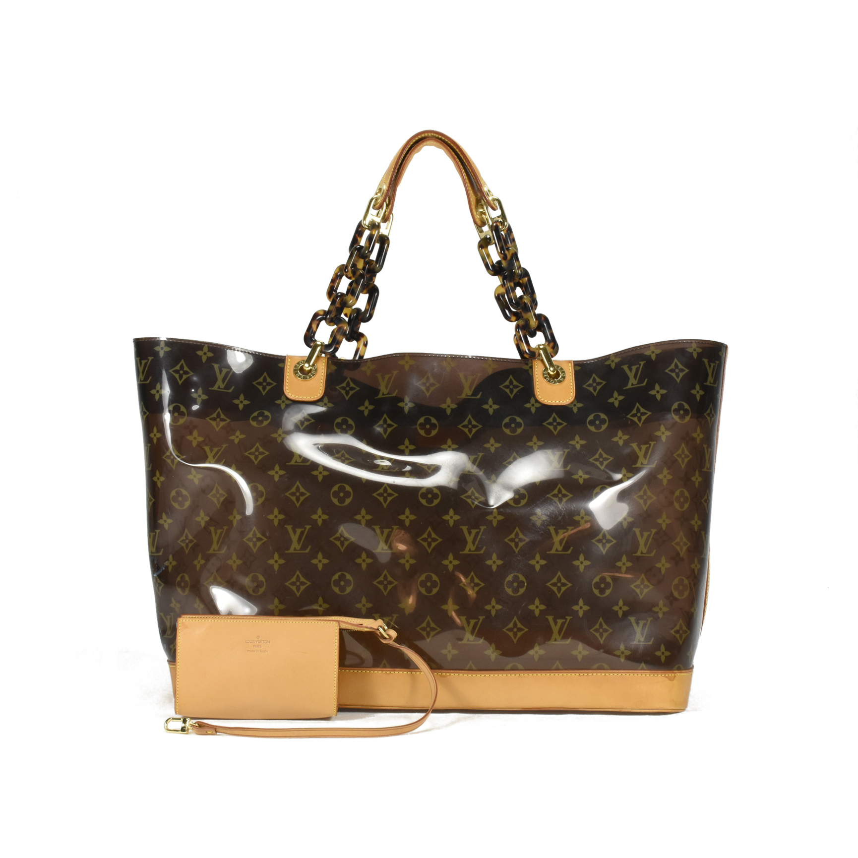 8c8c173068e0 Authentic Pre Owned Louis Vuitton Cabas Sac Ambre Monogram Vinyl Tote  (PSS-200-00881)   THE FIFTH COLLECTION®