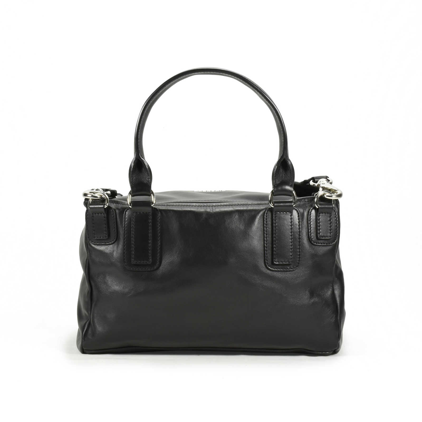 4a577220740b ... Authentic Second Hand Givenchy Pandora Medium Bag with Strap Logo  (PSS-200-00886 ...