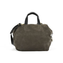 Loewe origami cubo suede and leather tote 2?1505449564