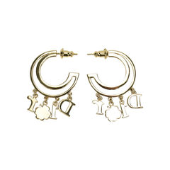 Christian dior hoop earrings 2?1505704908