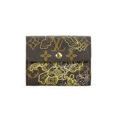 Dentelle Monogram Ludlow Wallet