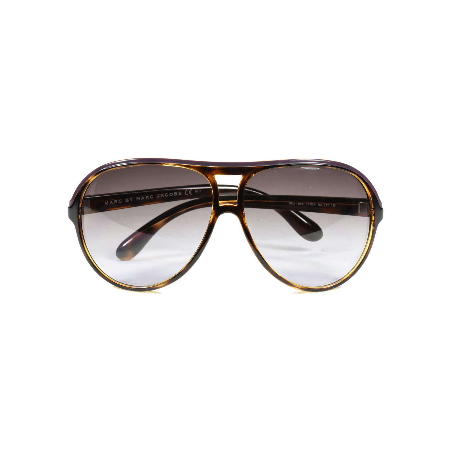 6e6038d41f4 Authentic Second Hand Marc by Marc Jacobs Acetate Aviator Sunglasses  (PSS-048-00090)
