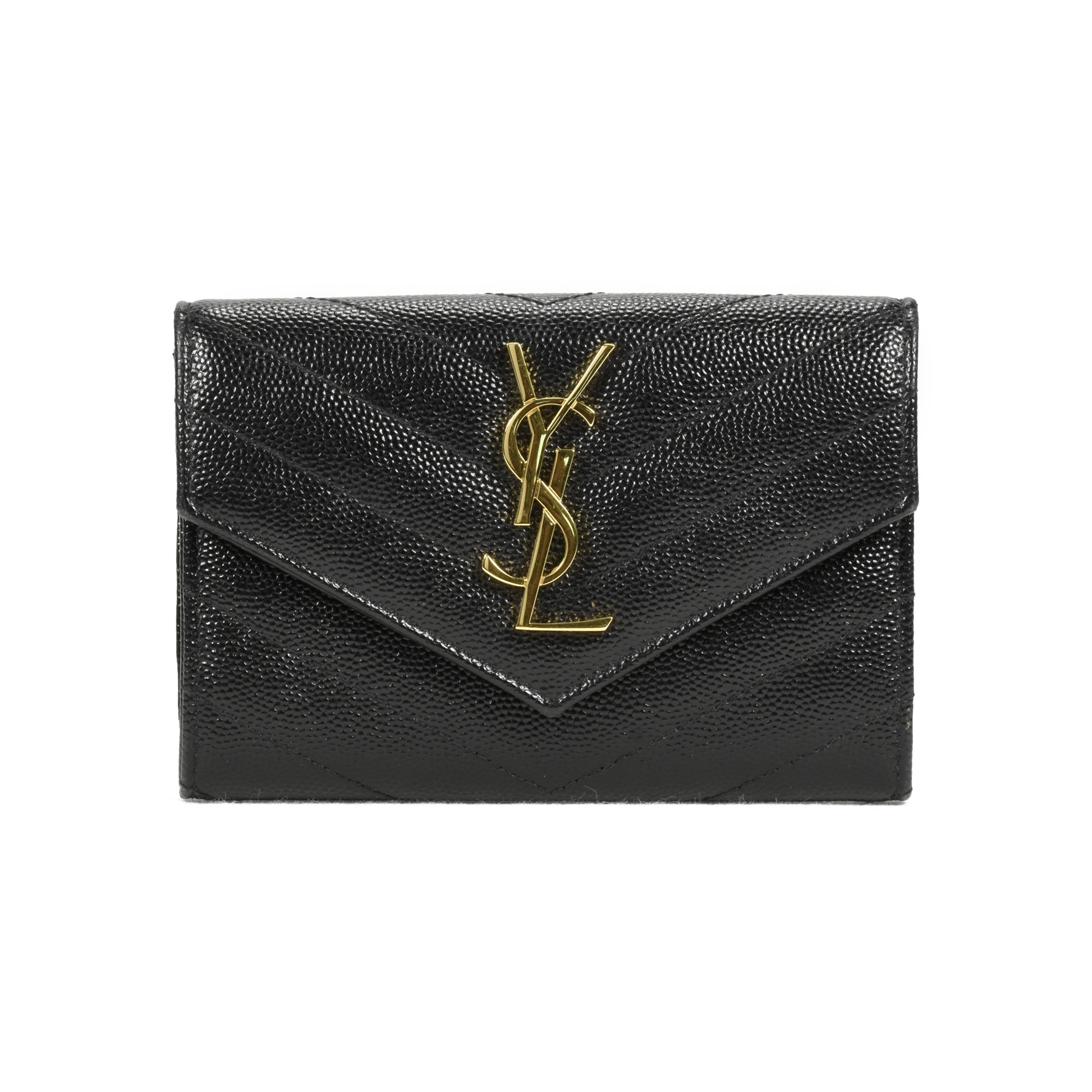 Buy Cheap Good Selling Saint Laurent small monogram envelope wallet The Cheapest Cheap Online Sale Online Cheap i9rk9tVw