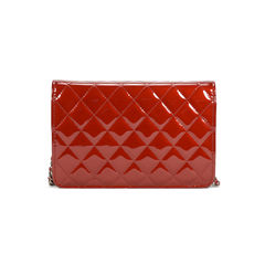 Chanel quilted patent cc wallet on chain woc 2?1505890176