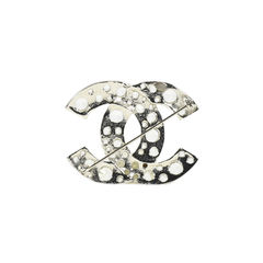 Chanel cc brooch with crystals 1?1505890314