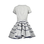Authentic Second Hand Sacai Cotton-Blend Ruffle-Tiered Dress (PSS-200-00633) - Thumbnail 1