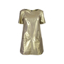 Authentic Second Hand Rebecca Minkoff Gold Lambskin Dress (PSS-200-00629) - Thumbnail 0