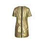 Authentic Second Hand Rebecca Minkoff Gold Lambskin Dress (PSS-200-00629) - Thumbnail 1