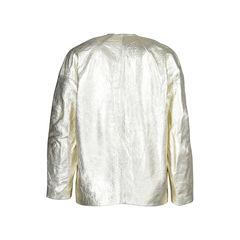 Isabel marant gold lambskin jacket 2?1505973885