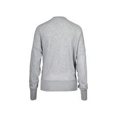Balenciaga grey knit cardigan 2?1506310677