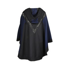 Lace Paneled Hood