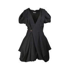 Voluminous Pleat Dress