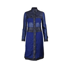 Mesh Panelled Dress