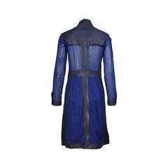 Bottega veneta mesh paneled dress 2?1506313330