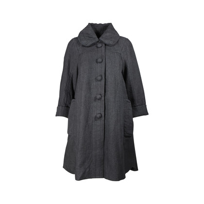 Authentic Second Hand Marc Jacobs Linen Knee-Length Coat (PSS-200-00516)