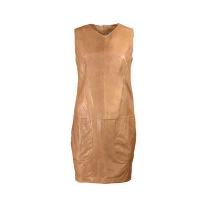 Authentic Second Hand Vince Leather Mini Dress (PSS-200-00548)