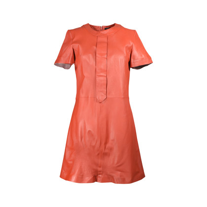 Authentic Second Hand Raoul Leather A-Line Dress (PSS-200-00553)