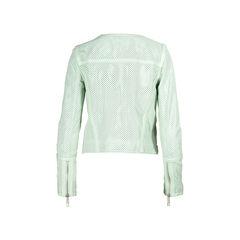 Rachel zoe mint leather jacket 2?1506487412