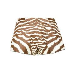 Gucci cowskin fur motif shorts 2?1506487528
