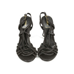 Strappy Braided Sandals