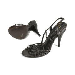 Fendi strappy braided sandals 2?1506579091