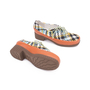 Authentic Second Hand Tsumori Chisato Woven Lace-up Shoes (PSS-200-00846) - Thumbnail 2
