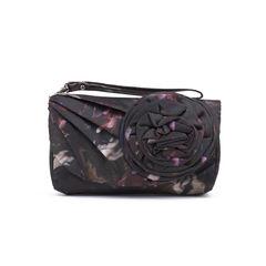 Rosette Flower Wrist Bag