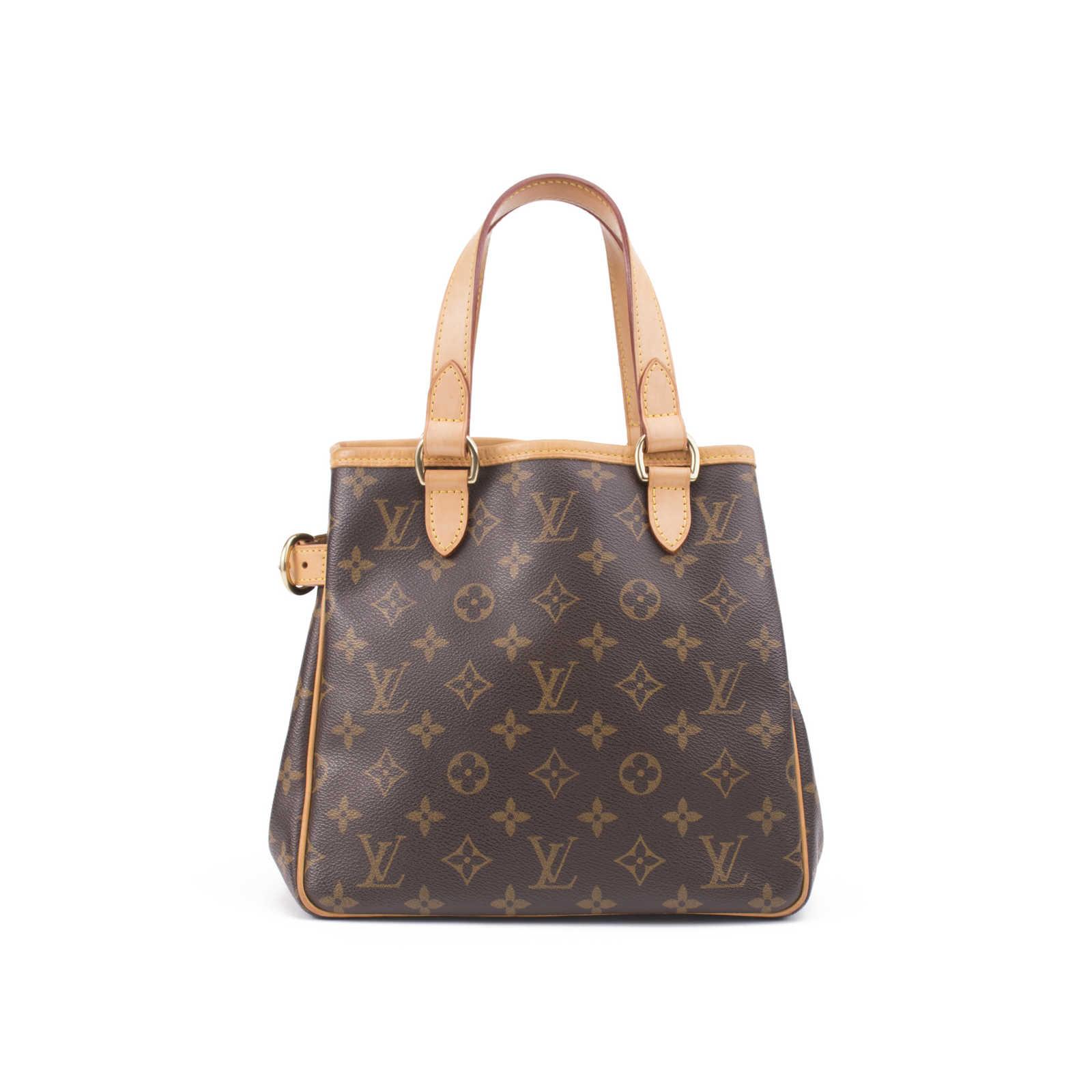 f0b53e478a8 Authentic Second Hand Louis Vuitton Monogram Batignolles Bag (PSS ...