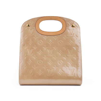 Louis Vuitton Maple Drive Noisette Vernis Leather Hand Bag