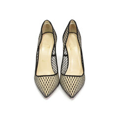 Pigaresille 100 Mesh Suede Pumps