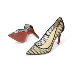 Christian louboutin pigaresille 100 mesh suede pumps 2?1506930541