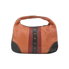 Bottega veneta karung trimmed intrecciato hobo bag 2?1507107009