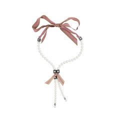 Lanvin strand necklace white 2?1507267183