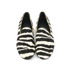 Pony Hair Zebra Loafers