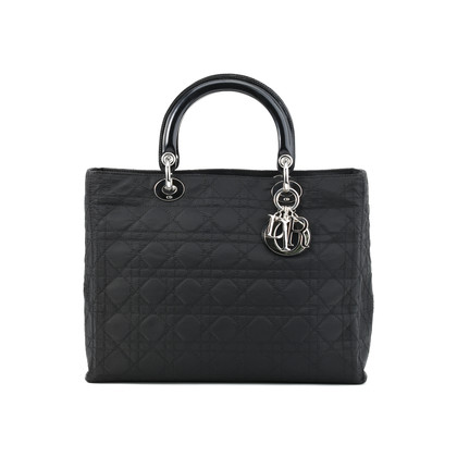 Christian Dior Cannage Large Lady Dior Bag