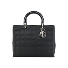 Cannage Large Lady Dior Bag
