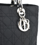 Christian Dior Cannage Large Lady Dior Bag - Thumbnail 3