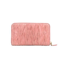 Miu miu matelasse zip around wallet 2?1507619516