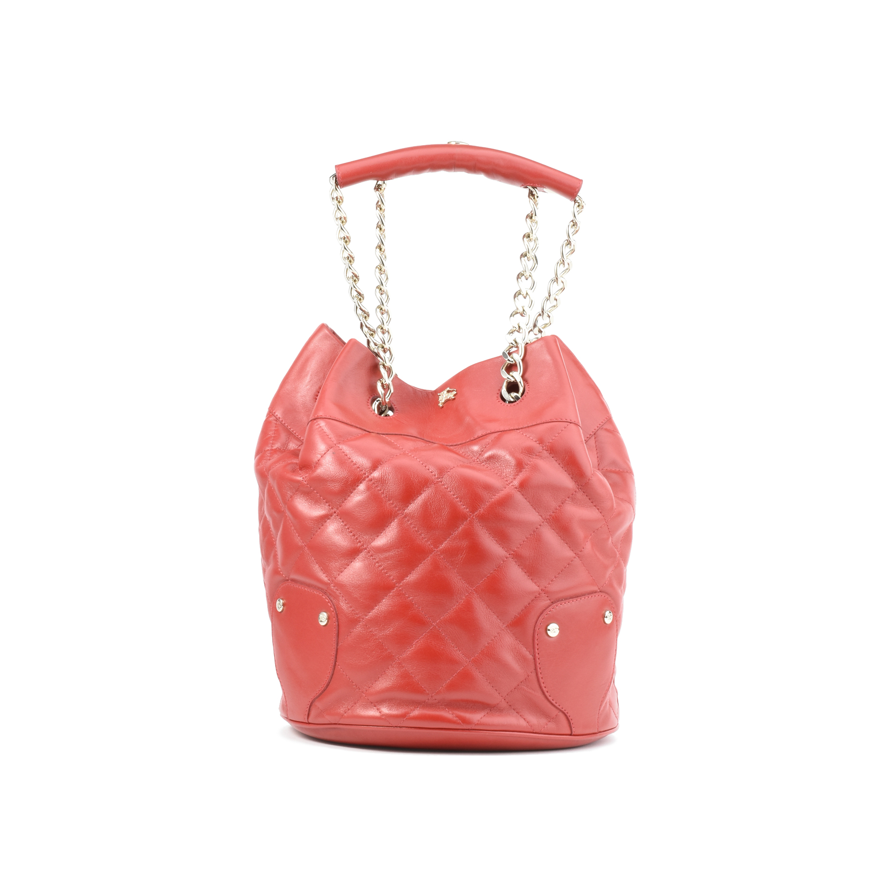d090e054e546 Authentic Second Hand Burberry Quilted Bucket Shoulder Bag (PSS-413-00010)
