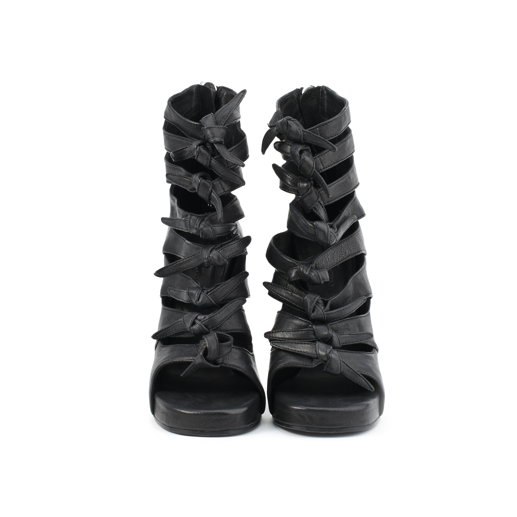 411771ad20a2 Authentic Second Hand Rick Owens Knotted Multi-Strap Sandals  (PSS-413-00011)