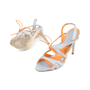 Authentic Second Hand Manolo Blahnik Cut Out Slingback Heels (PSS-413-00017) - Thumbnail 1