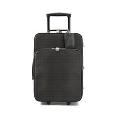 Checked Two-wheel Suitcase