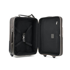 Burberry checked two wheel suitcase 2?1508390916