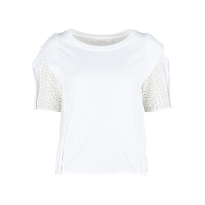 Authentic Second Hand See by Chloe Eyelet Top (PSS-357-00034)