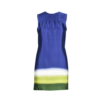 Authentic Second Hand Prada Ombré Shift Dress (PSS-357-00043)