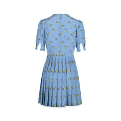 Miu miu pleated floral dress 2?1508483572