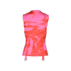 Christian dior tie dye silk jersey tank top 2?1508729970