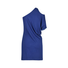 H halston heritage toga dress with shoulder cut out 2?1508745016