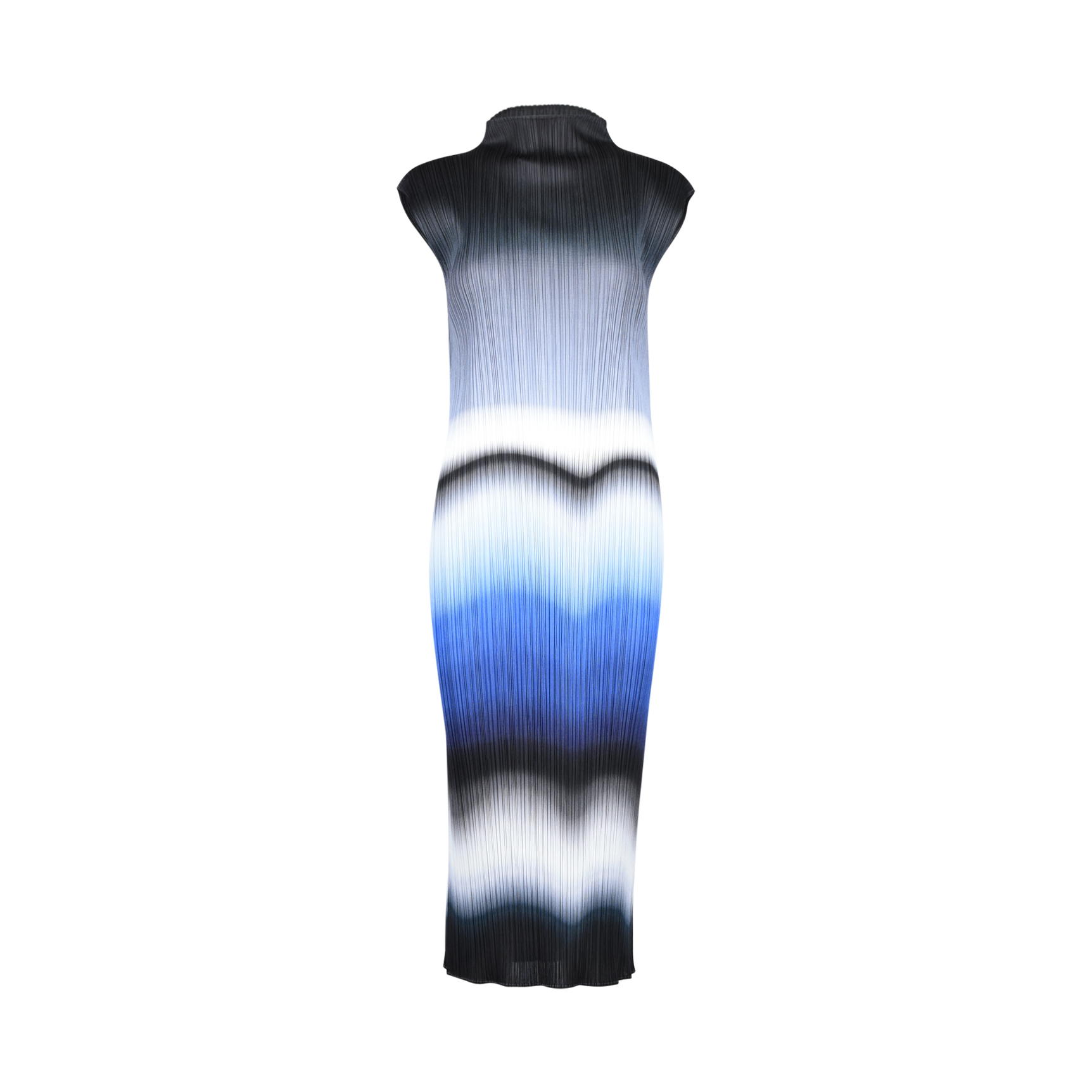 f1e54e40f5 Authentic Second Hand Pleats Please Ombre High-neck Dress (PSS-385-00006) -  THE FIFTH COLLECTION