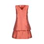 Authentic Second Hand Philosophy Di Alberta Ferretti Layered Flared Dress (PSS-247-00084) - Thumbnail 0